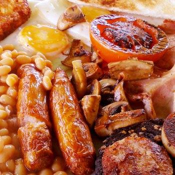 La colazione inglese