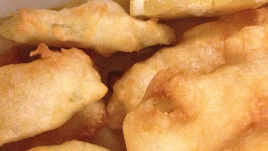 Frittelle di baccalà e zucchine