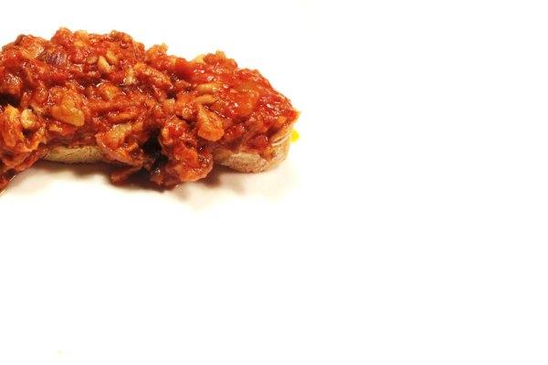 Baccalà con cipolle e pomodoro