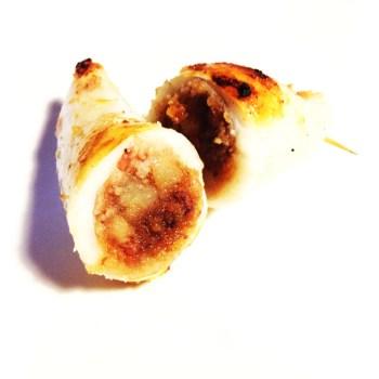 Calamari ripieni (con cipolle)