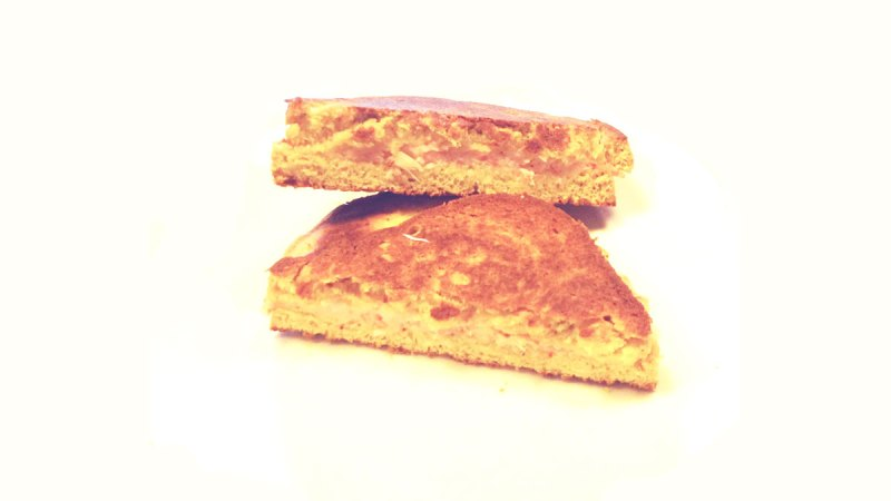 Toast di gamberi e curry