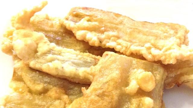 Coste di bietole fritte