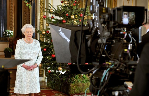 The Queen's Christmas Broadcast - BBC, Sky, ITV