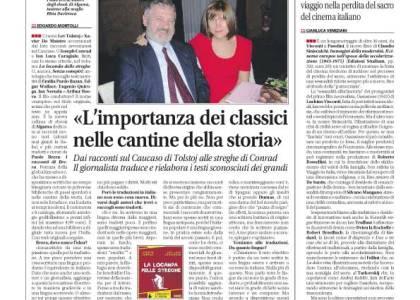 """Spopola la collana """"I racconti di Brera"""": l'intervista su Libero a Paolo Brera"""