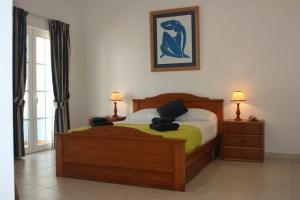 Casa Budens master bedroom