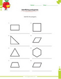 Geometry Worksheets For Kids In 1st 2nd 3rd 4th 5th