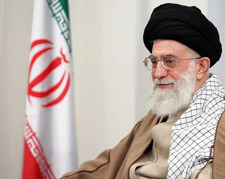 El gran ayatolá Ali Jamenei, el Líder Supremo de Irán actual.  Foto: Wiki Commons.