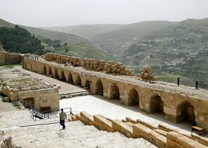 Kerak in Jordan where Jewish tourists were attacked