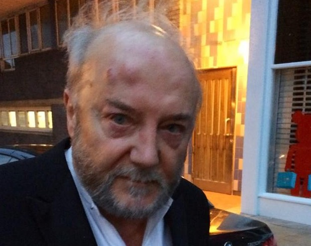 Respetar MP George Galloway.  Foto: Twitter