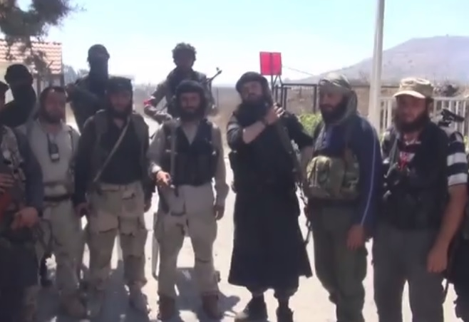 ISIS, rebel fighters in Syria. Photo: Screenshot