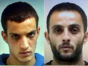 Jerusalem synagogue attackers: Uday & Ghassan Abu Jamal. Photo: Hatzolah EMS.