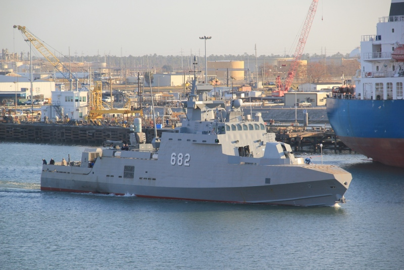 Ambassador III class Egyptian missile boat. Photo: Pensacola News Journal.