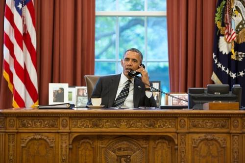 . El presidente estadounidense Barack Obama Foto: Pete Souza / Casa Blanca.