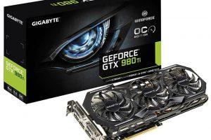 Vend carte graphique gigabyte Nvidia gtx 980 Ti gaming oc