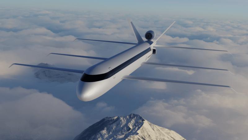 Un avion à 6 ailes (SE200)
