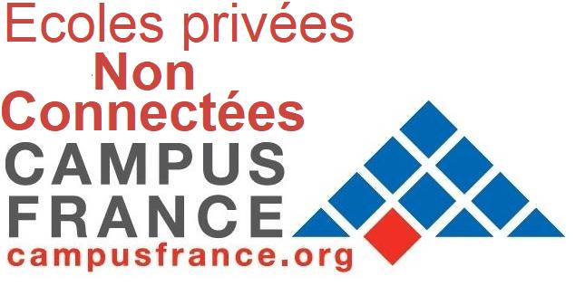 Liste des écoles non connectées à campus France Algérie