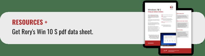 Win 10 S datasheet