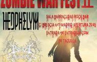 ZOMBIE WAR FEST II – 31 de octubre Madrid (Sala Barracuda Rock Bar)