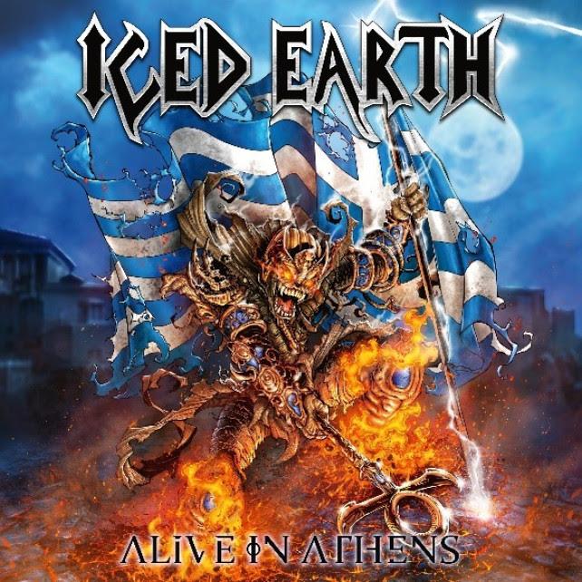 [Iced Earth] anuncia el lanzamiento de la edición del 20 aniversario de «Alive in Athens»