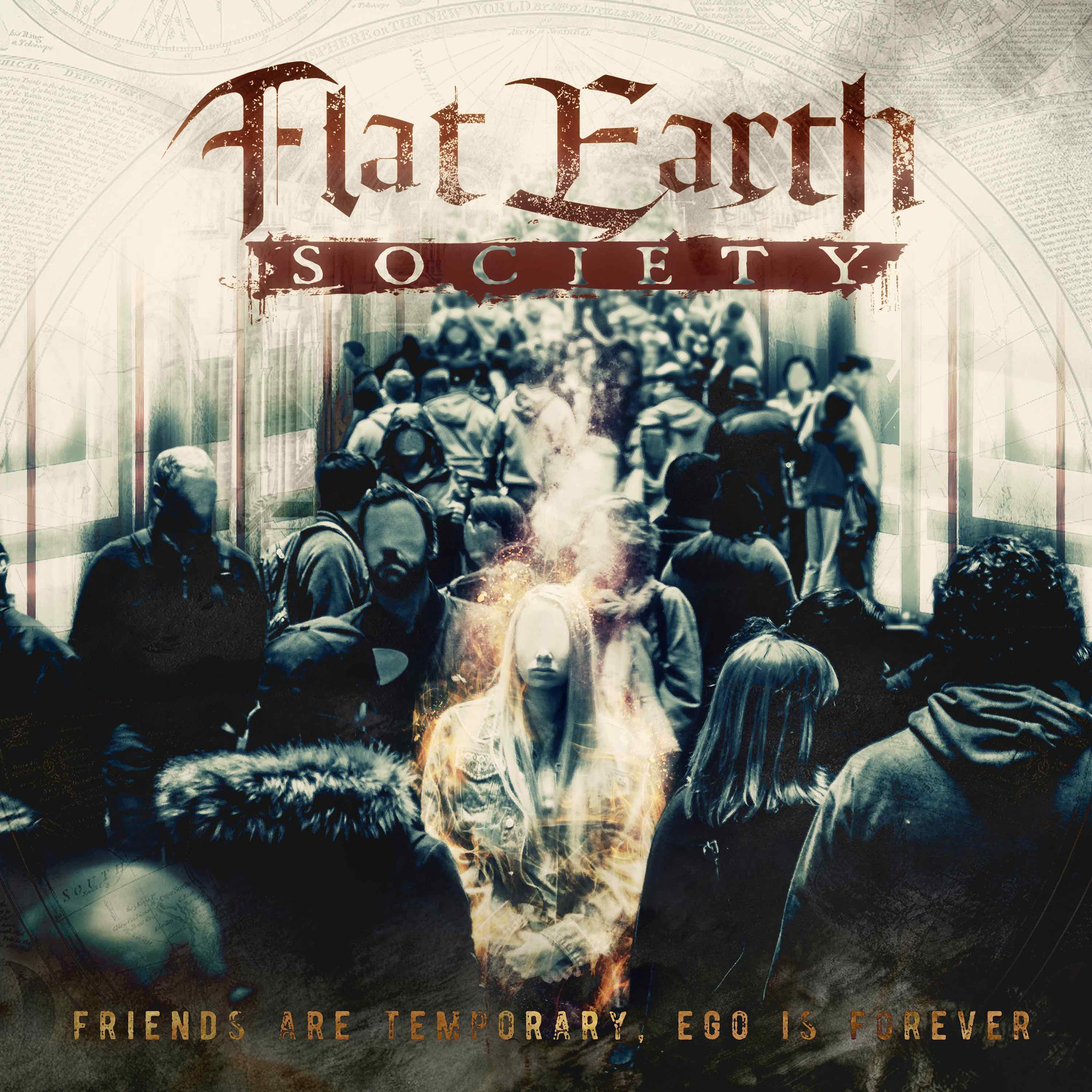 """[Reseña] """"Friends are temporary, ego is forever"""", el próximo disco de FLAT EARTH SOCIETY"""