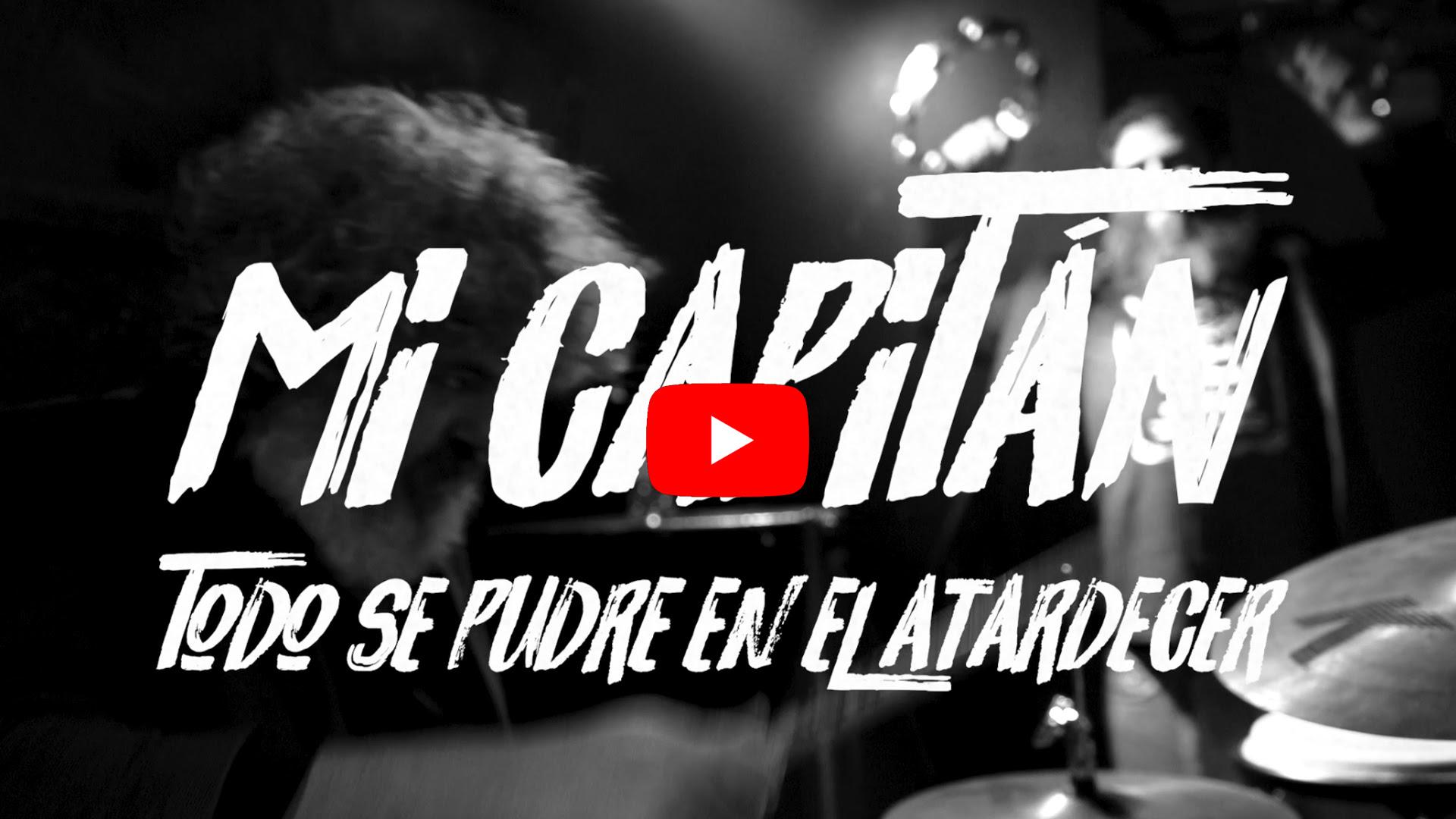 Mi Capitán lanza «Todo se pudre en el atardecer», nueva canción