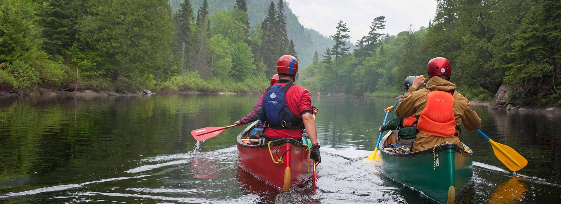 Canoe Kayak SUP Paddling In Algoma Northern Ontario