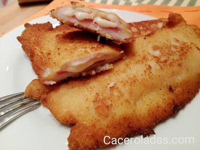 libritos de pollo rellenos de jamon serrano y queso