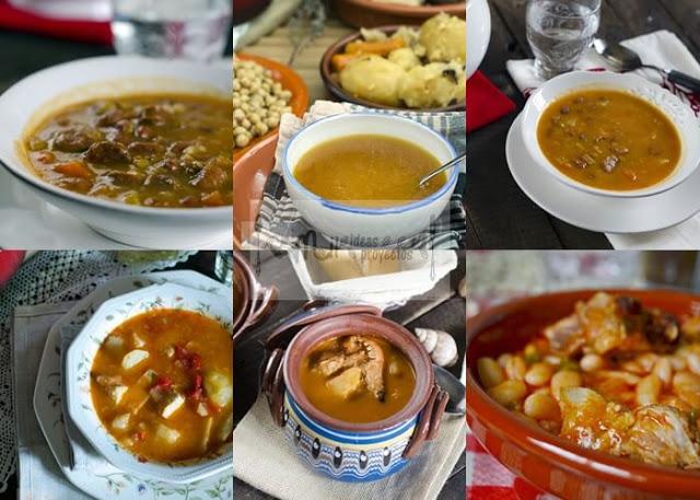 7 platos de cuchara para invierno