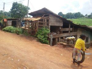 Barrio Mvog Betsi, Yaundé. Camerún.