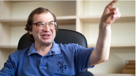 Sergei Mavrodi's face