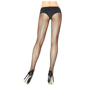 Callie One Size Fishnet Tights with Backseam by Leg Avenue