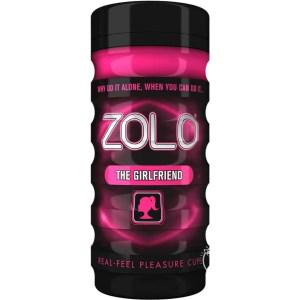 Zolo Girlfriend Textured Masturbation Cup