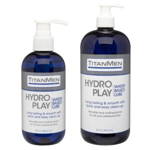 TitanMen Hydro Play – Water Based Personal Lubricant