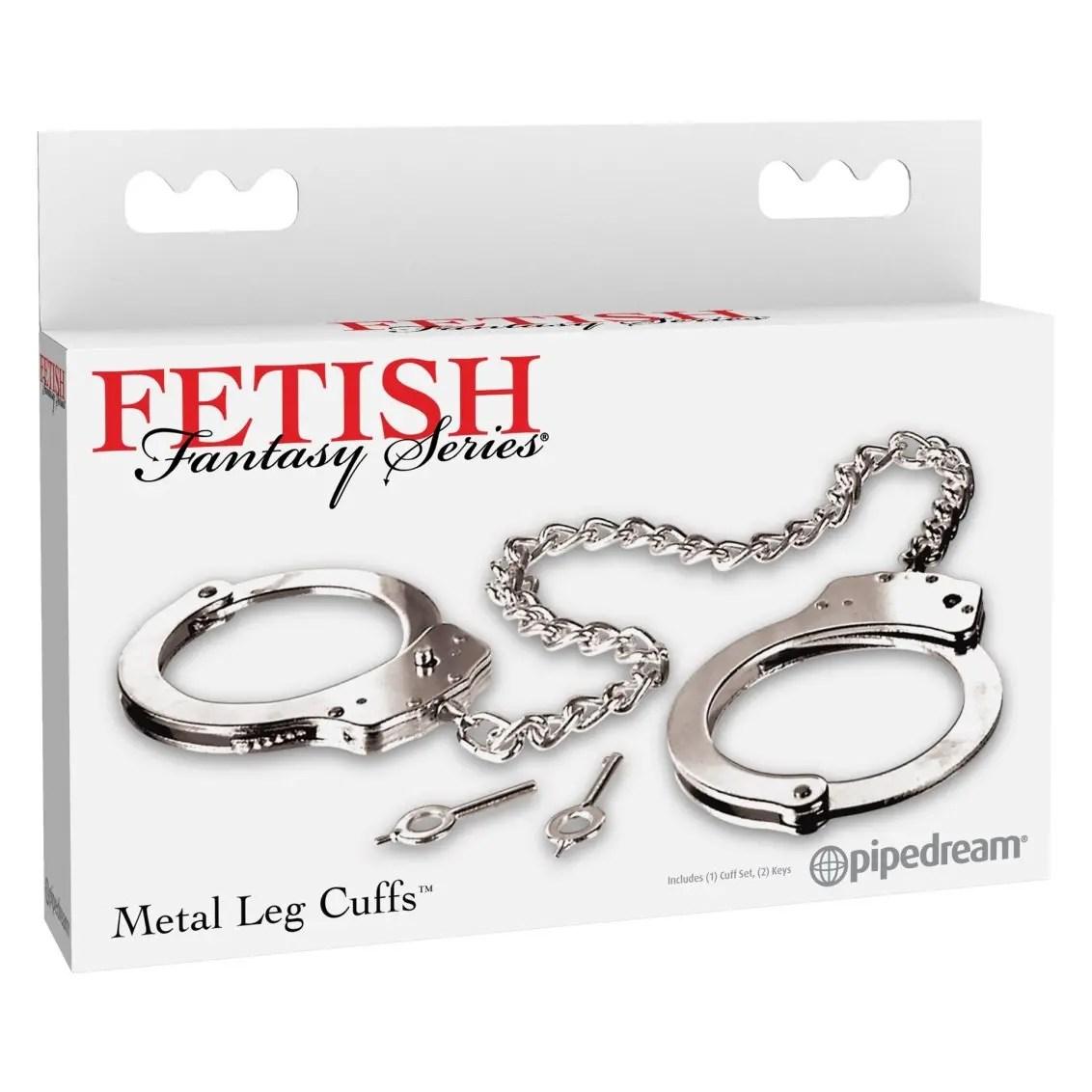 Fetish Fantasy Metal Leg Cuffs