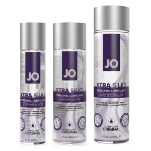 Jo Xtra Silky Ultra-Thin Silicone Personal Lubricant