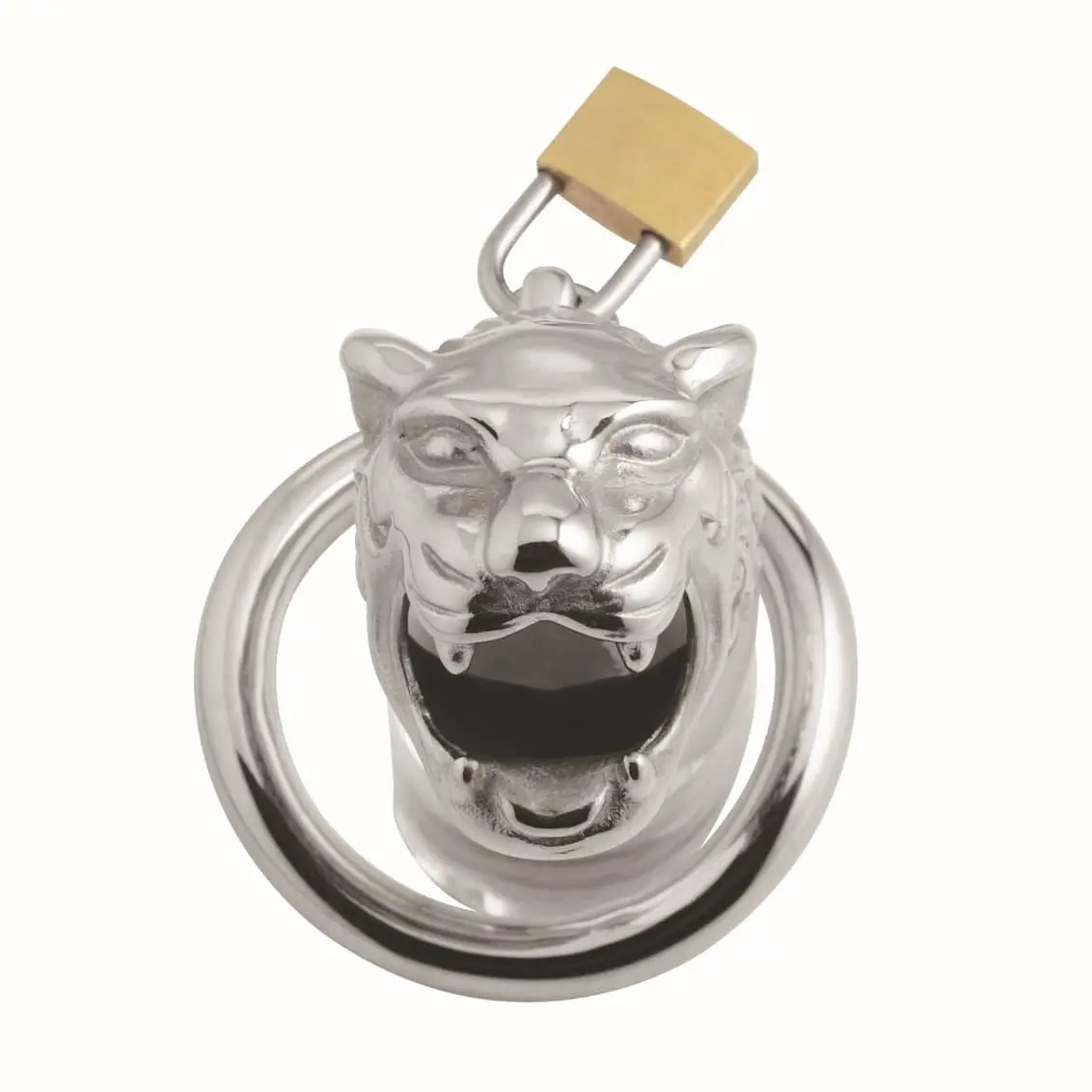 Master Series – Tiger King Locking Chastity Cage