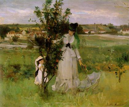 Berthe Morisot - Esconde-esconde