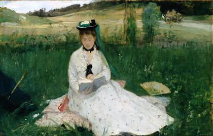 Berthe Morisot - Leitura -187e