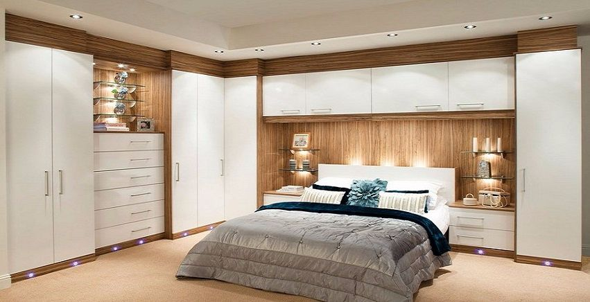 Fitted And Free Standing Wardrobes Design For Bedroom   Bedroom     Fitted Bedroom With Fitted