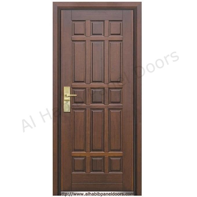 American Ash Wood Entry Door Hpd426 Solid Wood Doors