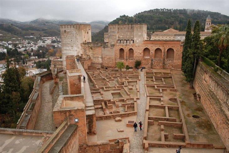 El antes y el después de la Alcazaba de la Alhambra – Alhambra de ...