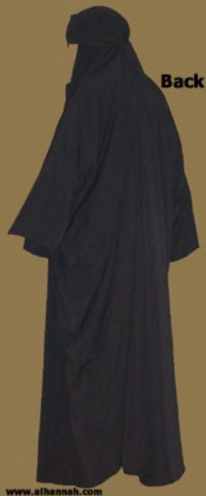 Traditional Iraqi Style Closed Abaya with Arms ab265