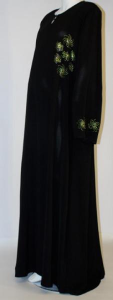 Baydaa Al Karam Beaded Abaya ab445