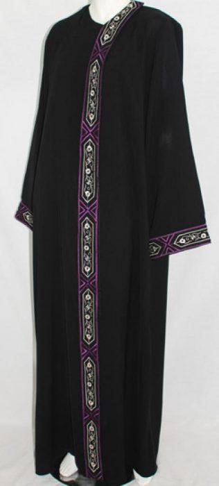Al Karam Samah Embroidered Abaya ab468