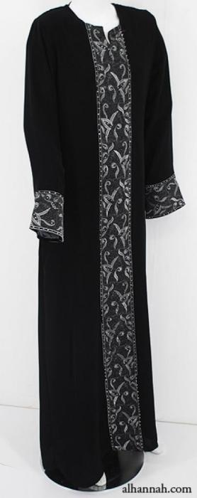 Embroidered Womens Abaya ab573