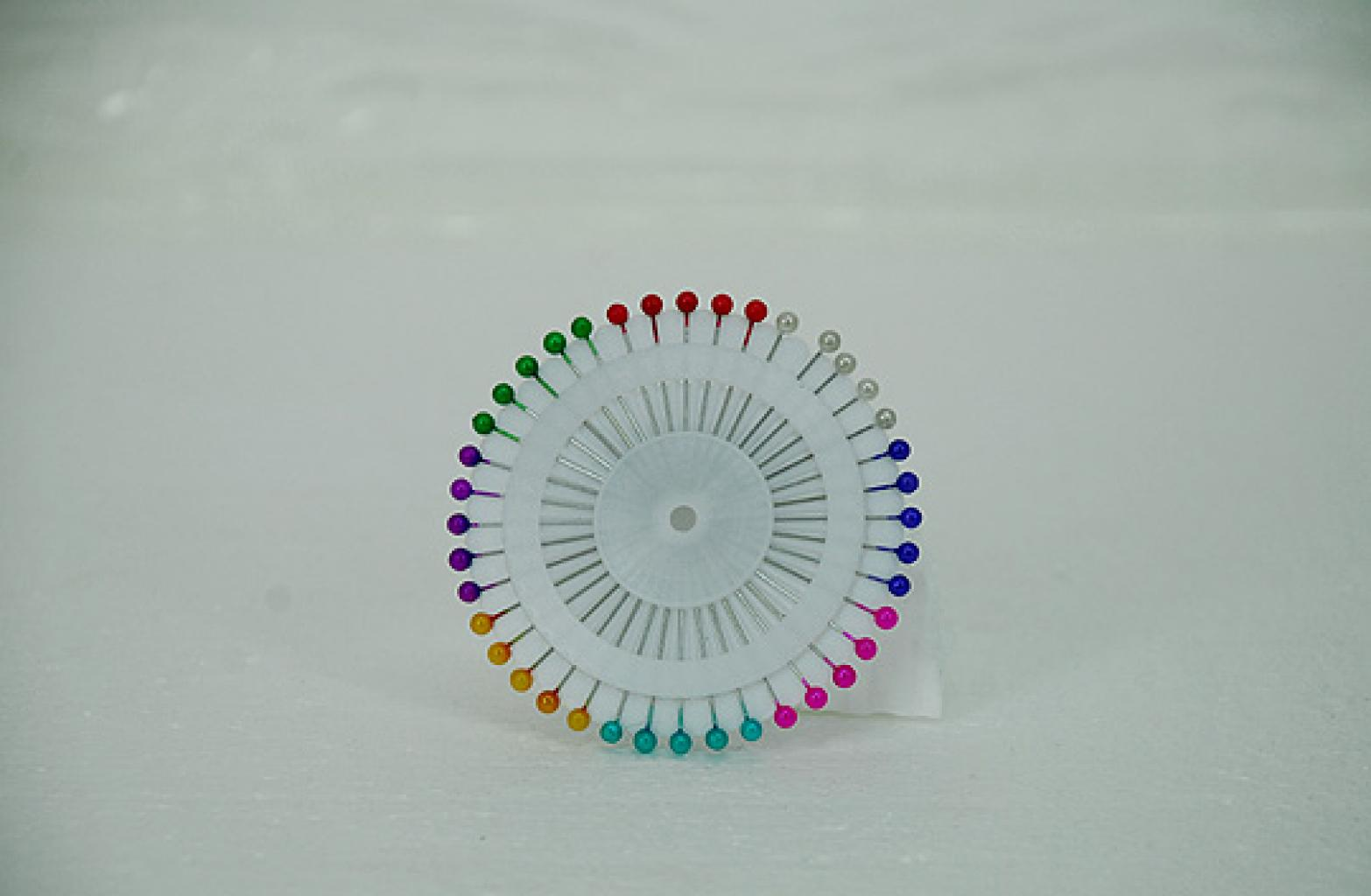 Ball-end Straight Hijab Pins  ac230
