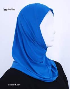 Girls One Piece AlAmirah Hijab in Solid Colors ch507