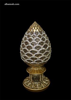 Asma Al Husna 99 Names Decorative Pineapple Finial gi913