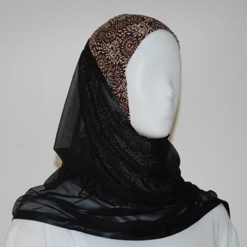Kuwaiti Style Shayla Wrap  hi1532