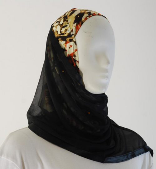 Kuwaiti Style Shayla Wrap  hi1535